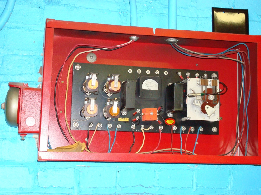 Old School Fire Alarms Alarm Control Panels Pull Station Wiring Diagram If You Have Questions Or Want Further Information Regarding Any Of The Artifacts Seen On This Website Please Contact