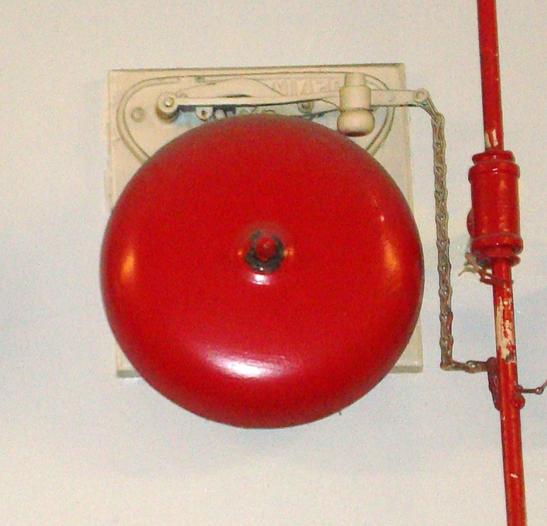 Old School Fire Alarms – Manual Trip Bells