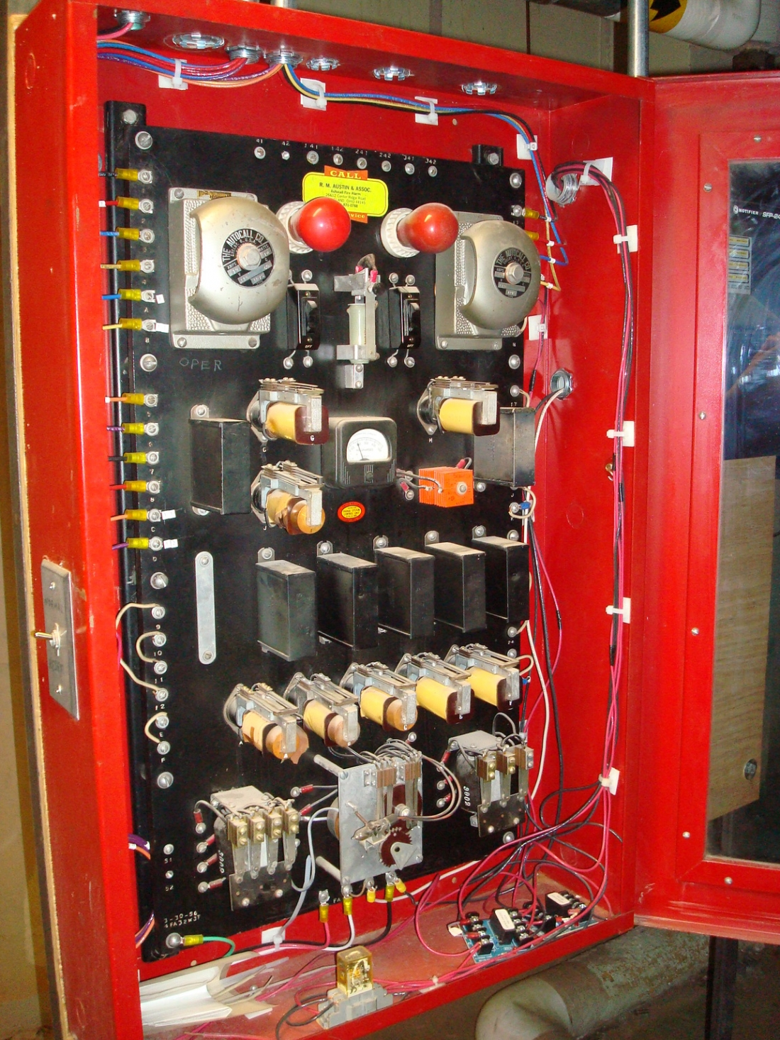 Old School Fire Alarms Fire Alarm Control Panels